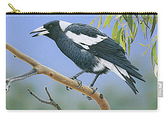 The Pied Piper - Australian Magpie Carry-all Pouch