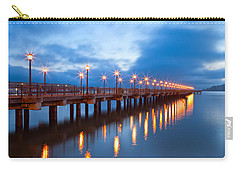 Carry-all Pouch featuring the photograph The Pier by Jonathan Nguyen