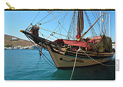 Carry-all Pouch featuring the photograph The Pirate Ship  by Micki Findlay