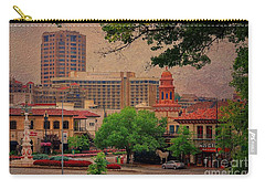 The Plaza - Kansas City Missouri Carry-all Pouch by Liane Wright