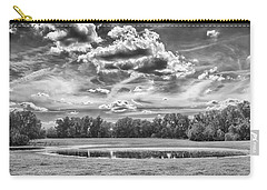 Carry-all Pouch featuring the photograph The Pond by Howard Salmon