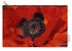 The Poppy Is Also A Flower Carry-all Pouch