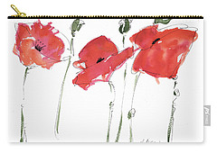 The Poppy Ladies Carry-all Pouch