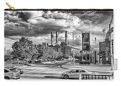 Carry-all Pouch featuring the photograph The Power Station by Howard Salmon
