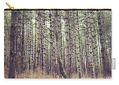 Carry-all Pouch featuring the photograph The Preaching Of The Pines by Kerri Farley