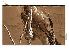 The Predator Digital Painting Carry-all Pouch by Bobbee Rickard