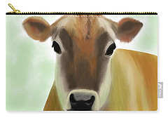 The Pretty Jersey Cow  Carry-all Pouch