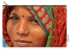 The Pride Of Indian Womenhood Carry-all Pouch
