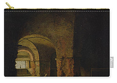 The Prisoner, C.1787-90 Oil On Canvas Carry-all Pouch