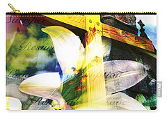 Carry-all Pouch featuring the photograph The Promise by Eleanor Abramson