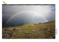 Carry-all Pouch featuring the photograph The Promise by Jim Garrison