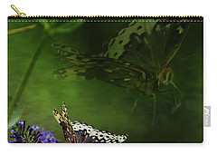 Carry-all Pouch featuring the photograph The Psyche by Belinda Greb
