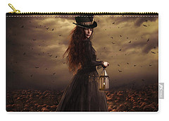 The Pumpkin Patch Carry-all Pouch by Shanina Conway