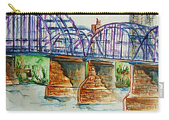 The Purple People Bridge Carry-all Pouch