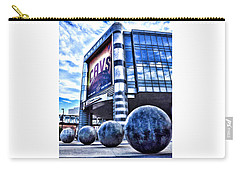 Carry-all Pouch featuring the photograph The Q - Home Of The 2016 Nba Champion Cleveland Cavaliers - 1 by Mark Madere