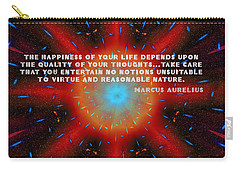 The Quality Of Your Thoughts Carry-all Pouch