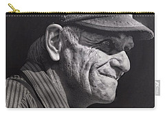 Carry-all Pouch featuring the photograph The Railwayman by Wallaroo Images