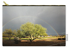 The Rain And The Rainbow Carry-all Pouch