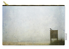 The Raven And The Beach Carry-all Pouch