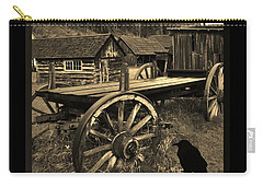 The Raven Flies Straight Carry-all Pouch