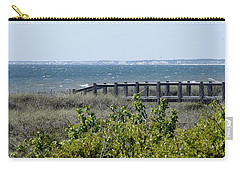 Carry-all Pouch featuring the photograph The Real Gulf Coast by Debra Forand