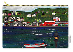 The Red And White Fishing Boat Carenage Grenada Carry-all Pouch