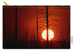The Red Planet Carry-all Pouch by Jim Garrison