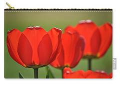 The Red Tulips Carry-all Pouch