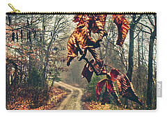 The Road Home Carry-all Pouch by Jessica Brawley