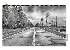 Carry-all Pouch featuring the photograph The Road Less Traveled by Howard Salmon