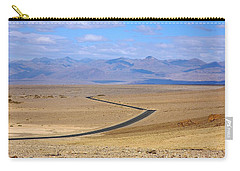 Carry-all Pouch featuring the photograph The Road by Stuart Litoff