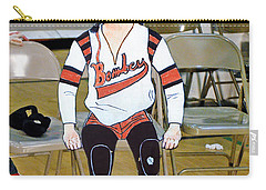 The Roller Derby Girl With A Black Eye Carry-all Pouch