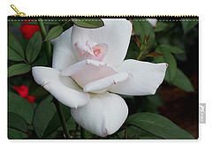 Carry-all Pouch featuring the photograph The Rose by James C Thomas