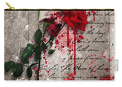 The Rose Of Sharon Carry-all Pouch