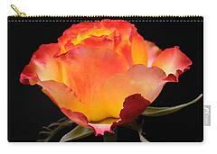 Carry-all Pouch featuring the photograph The Rose by Vivian Christopher