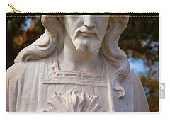 The Sacred Heart Carry-all Pouch by Linda Unger