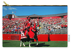 The Scarlet Knight And His Noble Steed Carry-all Pouch