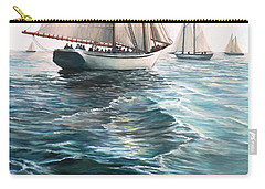 The Schooners Carry-all Pouch by Eileen Patten Oliver
