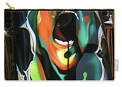The Scream - Pink Floyd Carry-all Pouch by Susan Carella