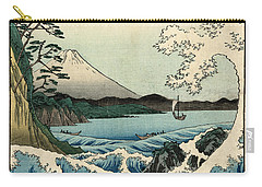 The Sea At Satta In Suruga Province Carry-all Pouch