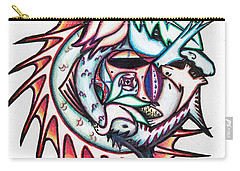The Seahorse Mosaic Carry-all Pouch