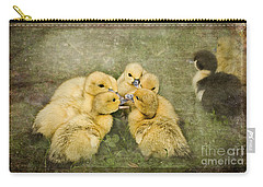 Carry-all Pouch featuring the photograph The Secret by Liz  Alderdice