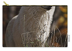 Carry-all Pouch featuring the photograph The Sentinel by Wolves Only