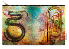 The Serpent And Euphonium -  Featured In Spectacular Artworks Carry-all Pouch