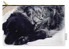 The Shaggy Dog Named Shaddy Carry-all Pouch