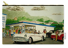 The Shake Shoppe Portsmouth Ohio 1960 Carry-all Pouch