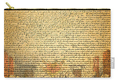 The Signing Of The United States Declaration Of Independence Carry-all Pouch