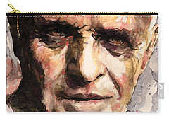 The Silence Of The Lambs Carry-all Pouch by Laur Iduc