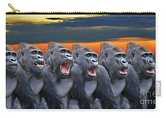 The Singing Gorillas Carry-all Pouch