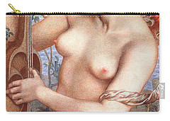 The Siren Carry-all Pouch by Dante Charles Gabriel Rossetti